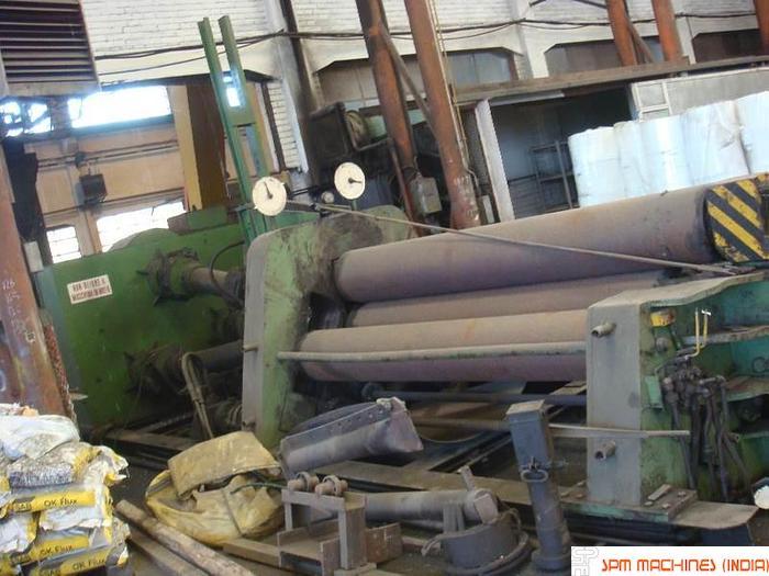FOMP Plate Bending 4 Roll Hydraulic Pre Pinch