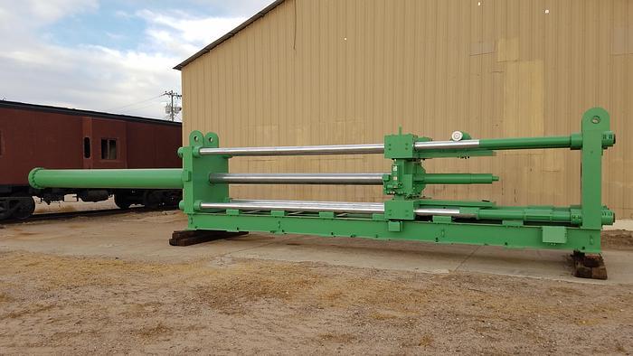Used 250 Ton Advanced Machine Horiz. Hyd. Press