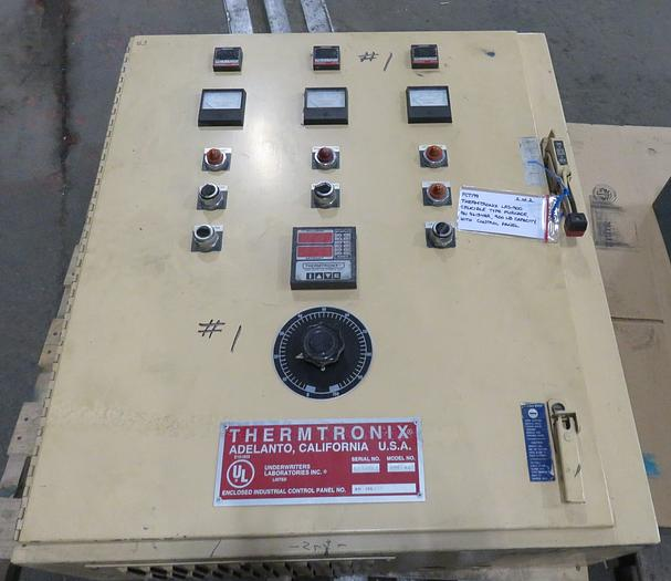 THERMTRONIX LRS-900 ELECTRIC RESISTANCE FURNACE 900#