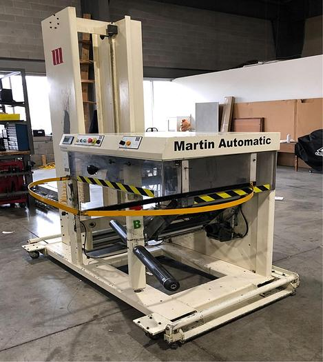 Used Martin LRD Turret Rewinder