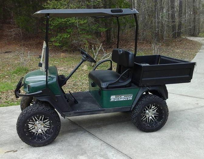 Used EZGO Workhorse Cart