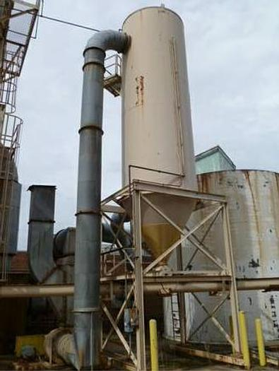 Used Dixie Wood Working Dust Collector, Dixie Air, Type SPB, Size 108-12, Model 201RH