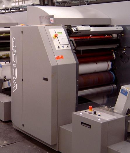 Used 2007 Drent VSOP 520 (Variable sleeve  offset printing)