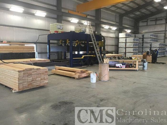 Used Mat Plant 100 Mats per day