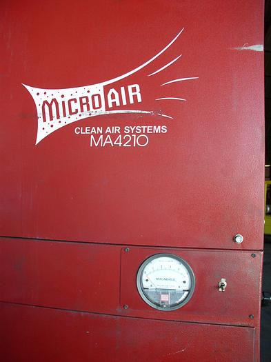 Used MicroAir Model MA4210 Dust Collector