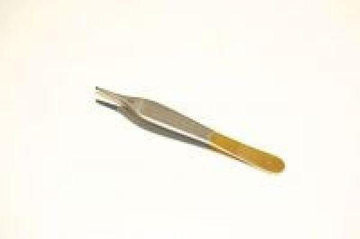 Used Forceps Tissue Dissecting Tungsten Carbide Adson Plain  120mm (4-3/4in)