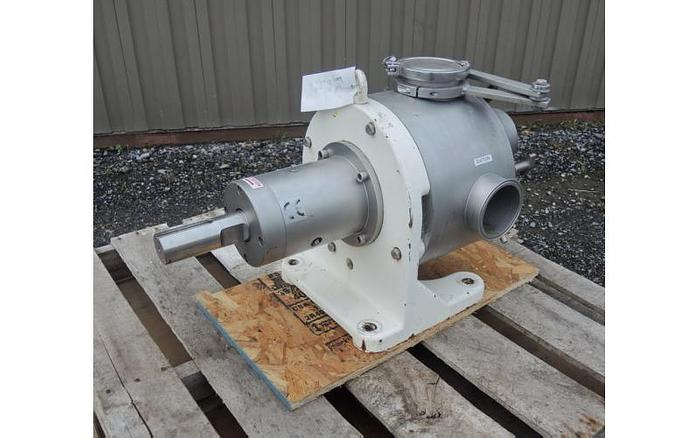 Used USED SINE POSITIVE DISPLACEMENT PUMP, MODEL MR150, 316 STAINLESS STEEL, SANITARY