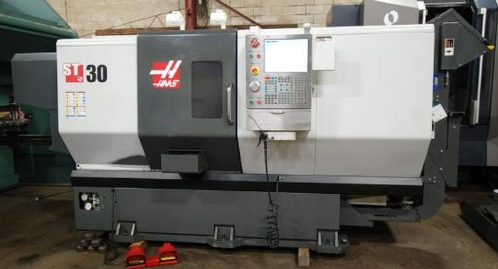 Used HAAS, ST-30, 2012, CNC LATHE -BIG BORE