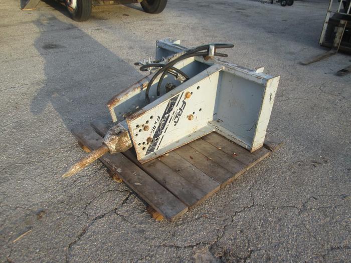 Used FRD Skid Steer Hydraulic Breaker Attachment