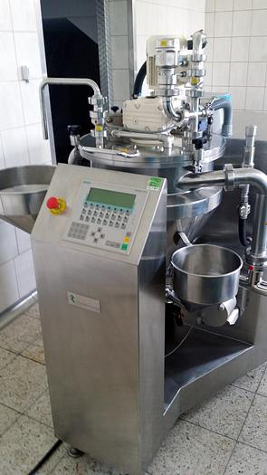 FRYMA KORUMA JACKETED VACUUM MIXING / PROCESSING VESSEL