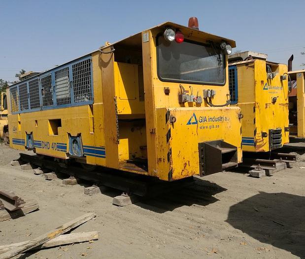 Usata Locomotore Motrice, GIA INDUSTRY AB modello DHD 40
