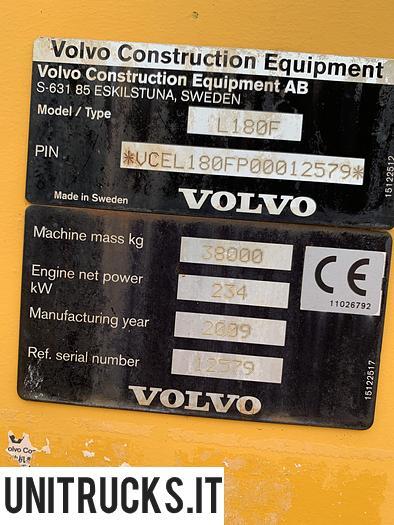 Usata 2009 VOLVO L 180 FHL