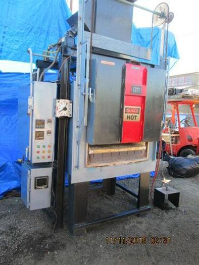 """GM 1300 DEGREE ATMOSPHERIC TYPE BURN OUT OVEN / FURNACE 36"""" X 36"""" X 24"""" ID"""