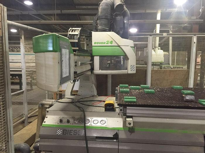 Used Biesse Rover 24 – Pod and Rail