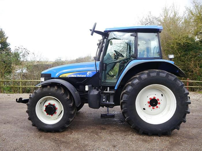 New Holland TM140 4WD Tractor