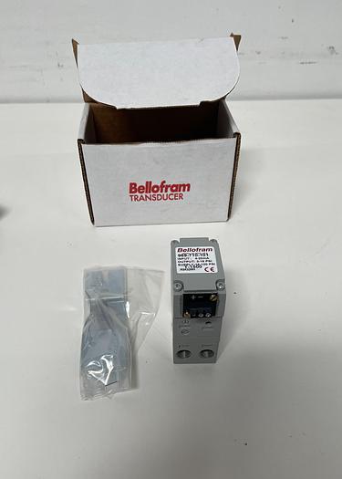 Marsh Bellofram T-1500 969-710-101 Pressure Transmitter