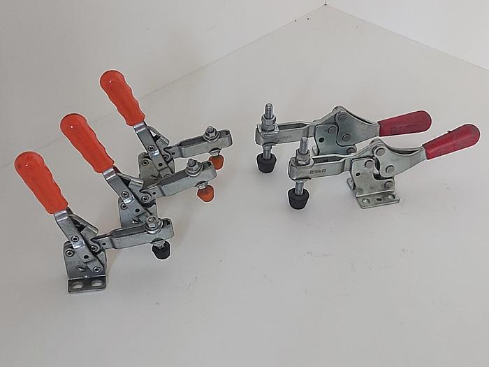 Gebraucht 5 Stück Schnellspanner, 2x 227, 3x 211, Destaco gebraucht