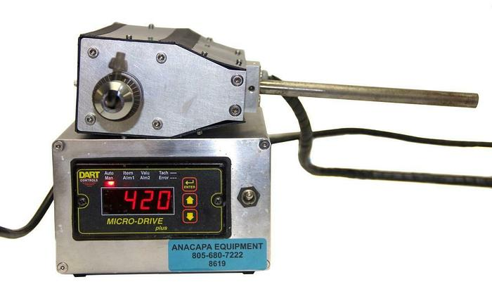 Used Dart Controls MD40P-420 Micro-Drive Plus W/ Unbranded OverHead Stirrer (8619)W