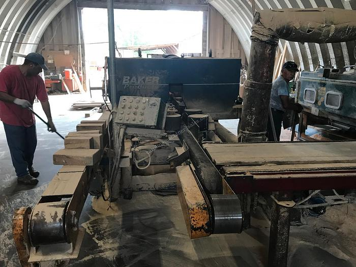 Baker Chop Saw and 5-Head Resaw