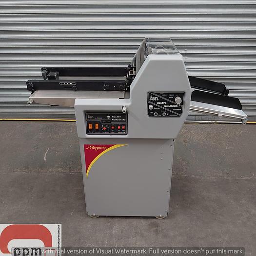 Used Morgana FSN, Numbering Perforate and Scoring Machine