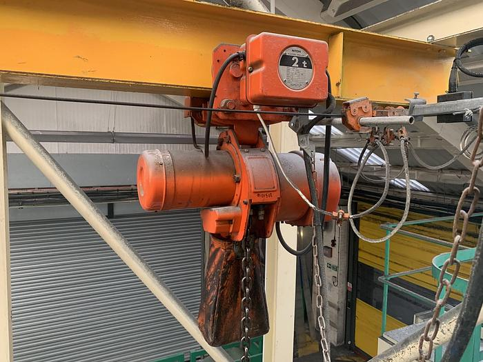 Used NITCHI EMT-5 Electric Hoist 2000kg