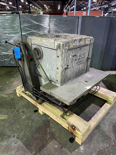 Used INDUCTOTHERM HYDRAULIC TILT TRANSITE BOX FURNACE
