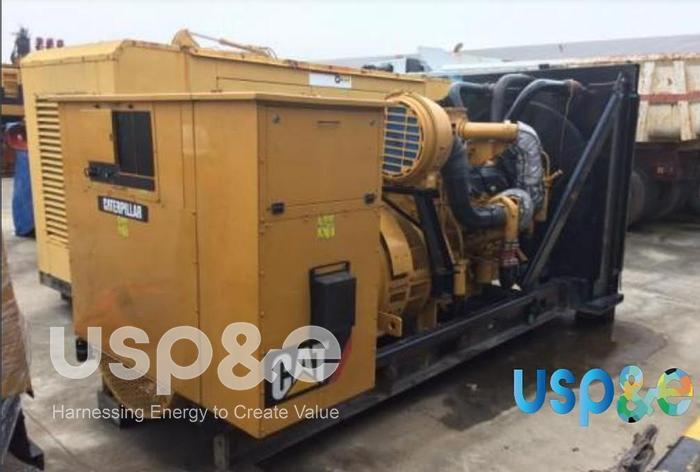 Used 0.8 MW 2008 Used Caterpillar C32 Diesel Generator Set