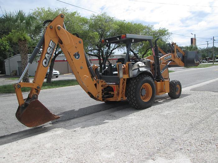 Used 2015 Case 580N Tractor Loader Backhoe