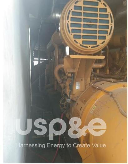 Used 2000kW Used 2011 Caterpillar 3516B  Diesel Generator Set 3516B