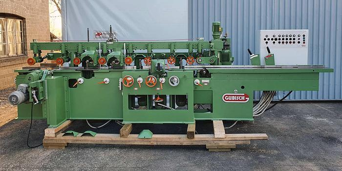 Used 1980 Gubisch Germany  Gubisch Planer and Moulder 172/7