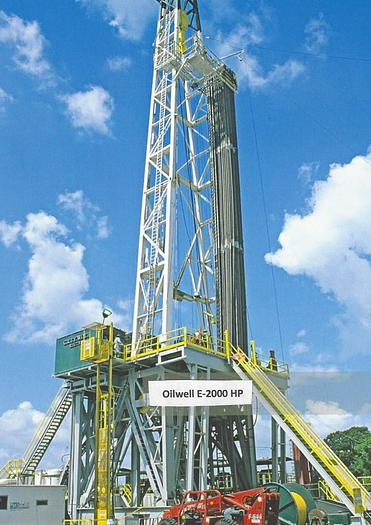 Promoted National OilWell E-2000 hp single drum rig Oilwell