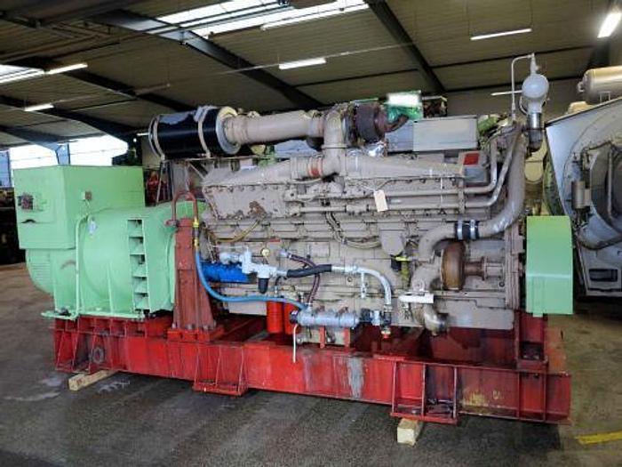 1.00 MW 1998 Cummins KTA50G3 Marine Diesel Generator