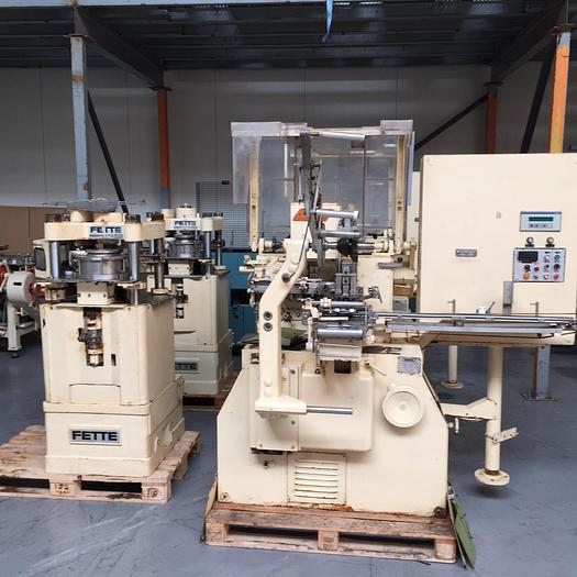 Used SAPAL BNL + FETTE press