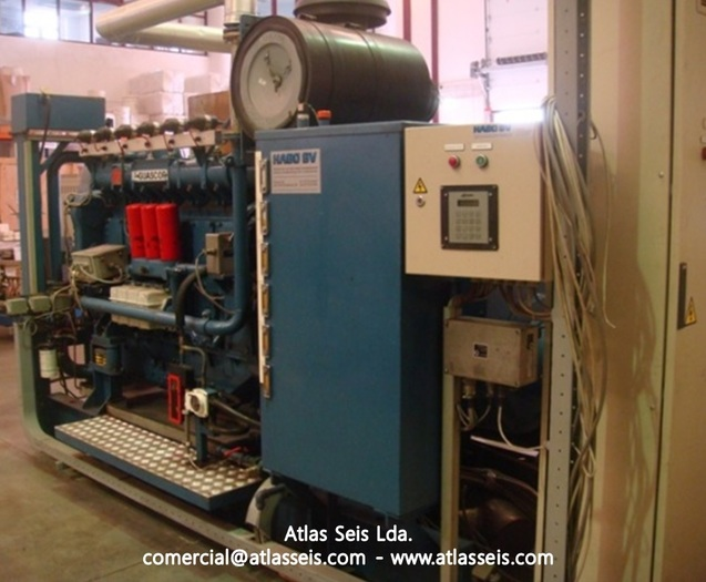 260 kW Gas Power Plant Guascor SFGLD 180