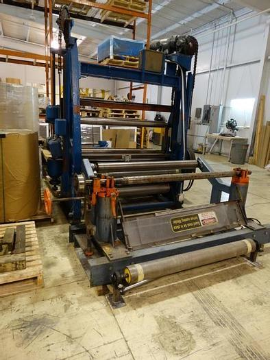 """Used 55""""  USED CAMERON 10 TWO DRUM SLITTER REWINDER"""