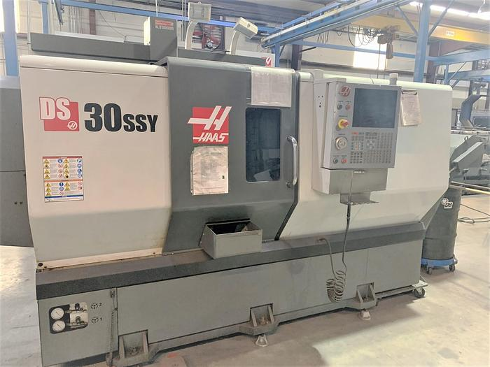 Used 2013 Haas DS-30SSY Big Bore