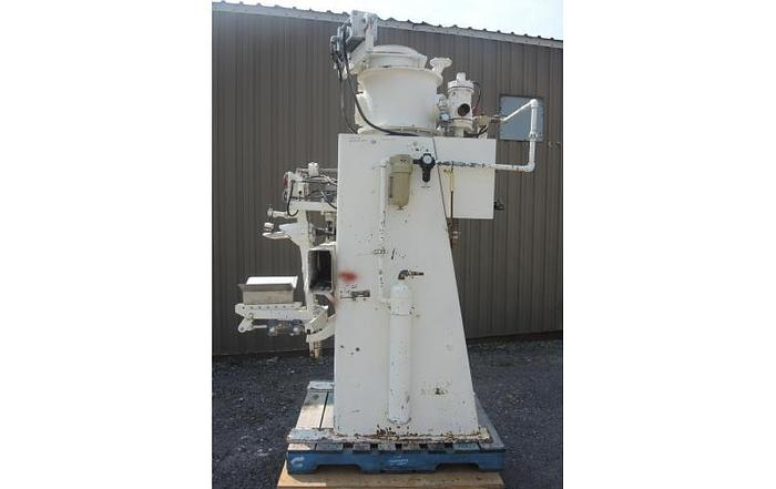 USED BAG FILLER, PNEUMATIC FEED, TWINPAK, SPOUT TYPE BAGS