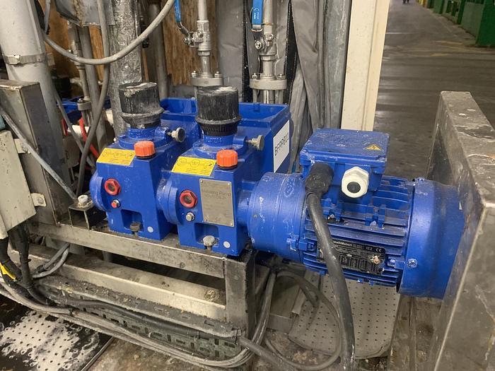 Used 2014 BRAN & LUEBBE NOVADOS 2H1 Metering Pump (2 Head)