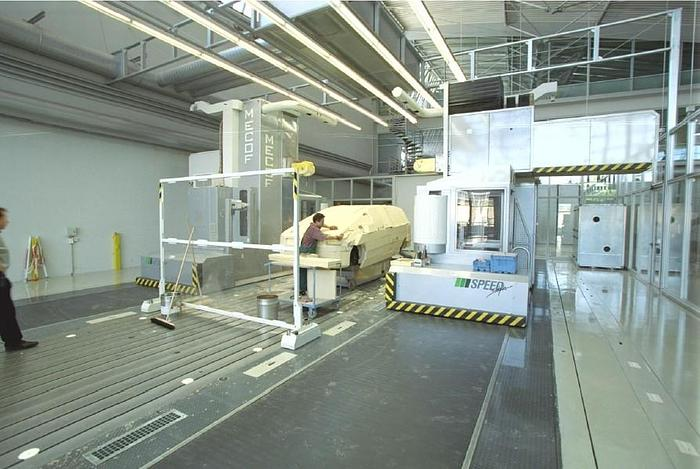 Usata FRESATRICE A MONTANTE MOBILE PER MODELLI MECOF SPEEDSTYLE CNC
