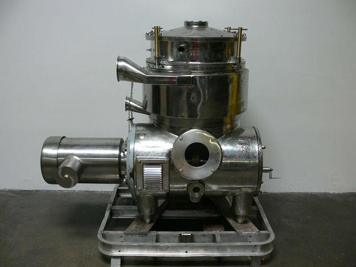 Used Westfalia Separator BKA 35-86-076 All Stainless Steel - Missing Rotor