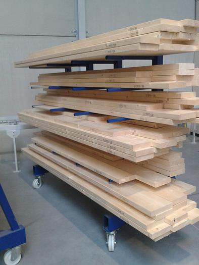 Timber Frame Trolley