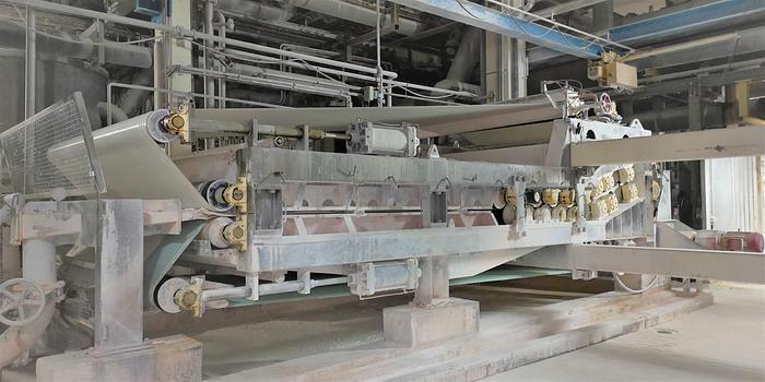 Gebraucht (SPA-383) - Double wire press Andritz SPB2800 - 2pc available