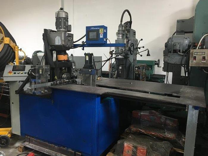Used BETECH FL-10 PROGRAMMABLE ANGLE FLANGE ROLLING MACHINE [4828]