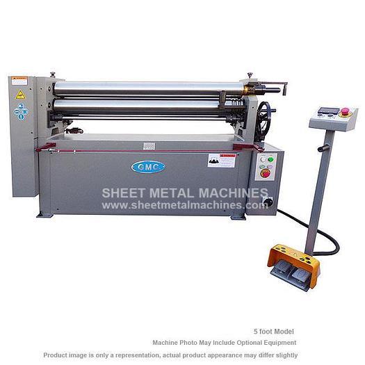 GMC Machine Tools Heavy Duty Power Bending Roll PBR-0810E