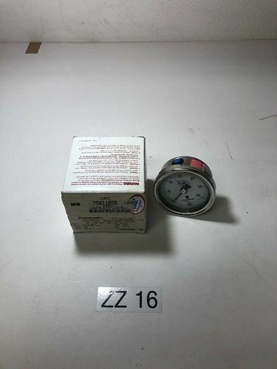 Ashcroft 251009SW02B30# Duralife Pressure Gauge 30 psi 25-1009-SW-02B