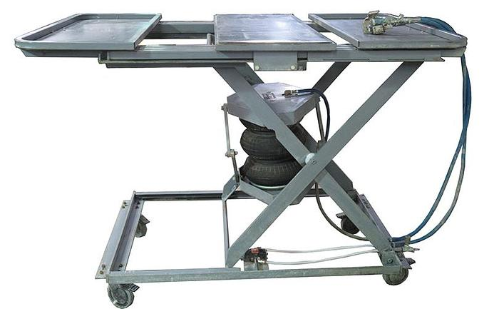 City Lifts 600lb Cap. Pneumatic Lift Table