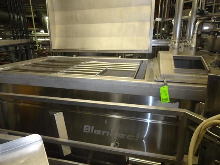 Used Blentech Blender, jacketed, hollow flight & injection. 2011