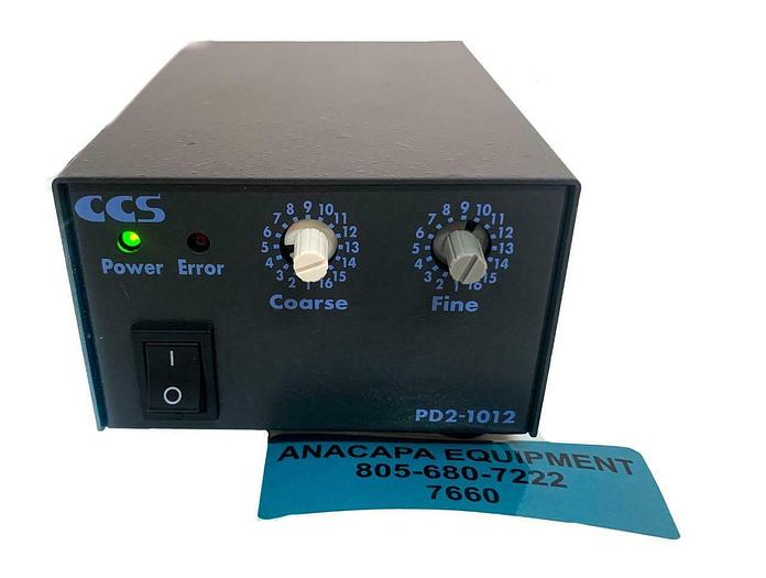 Used CCS Inc. PD2-1012(A) Digital Control Unit 2000519 (7660) W
