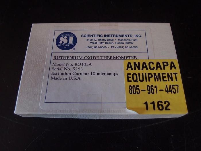 Ruthenium Oxide Thermometer Sensor RO105A 10 Microamps (1162)