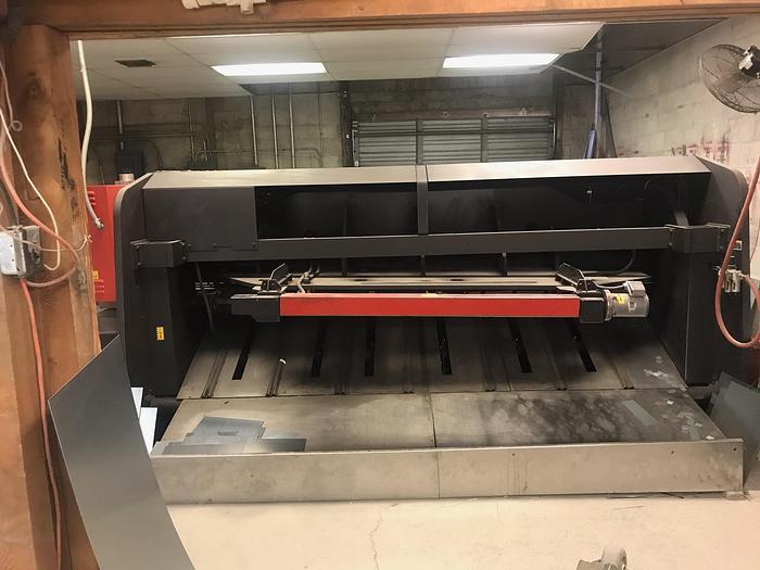 "1995 10'x1/4"" Amada M-3060 CNC Power Squaring Shear"